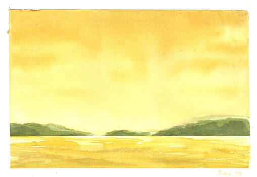 Waterscape - yellow