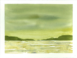 Waterscape - green