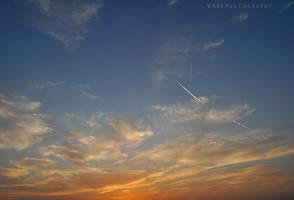 Warm Sunset by Zayoon