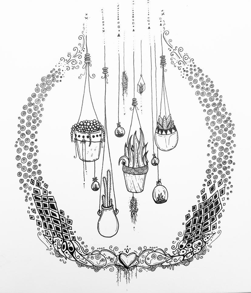 Hanging Garden by ijikana