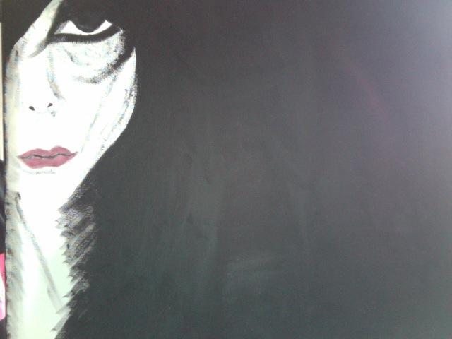 Sad gothic lady by BobJefferson on DeviantArt