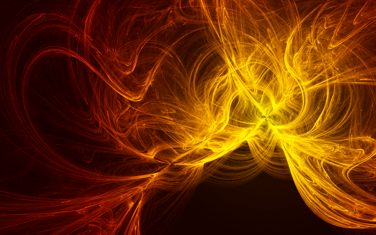 Abstract Fire by JohnTuley