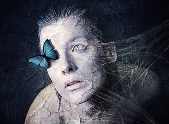 Blue Butterfly by MissSouls