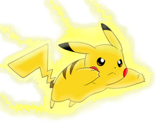 Go, Pikachu! by nicodiver