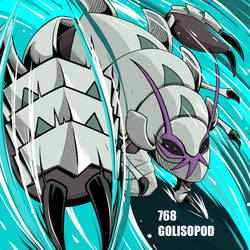768-GOLISOPOD by YeyoXD