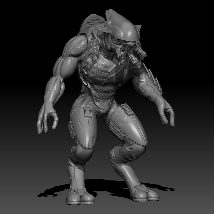 Halo Elite  WIP part4.2 by Squiby-327