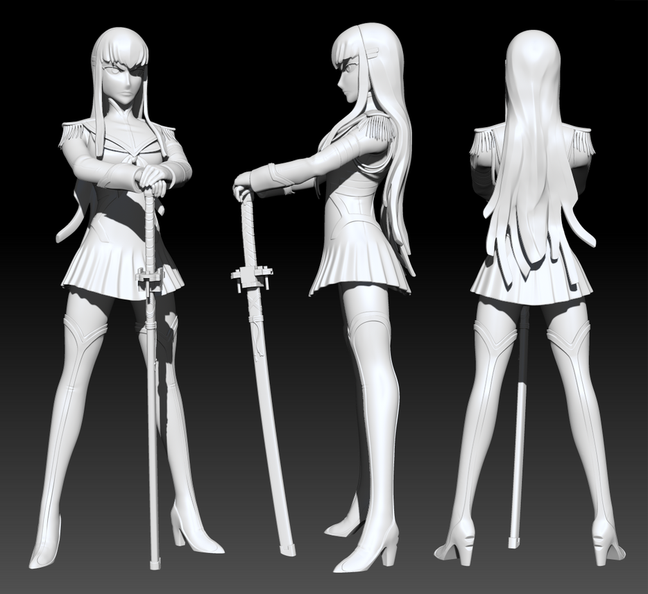 Satsuki Model by Squiby-327