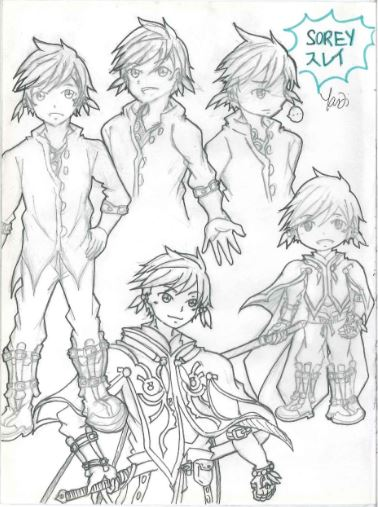 [TOZ] Sorey by shade1995