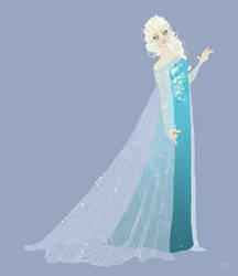 Frozen Elsa by SofiBS