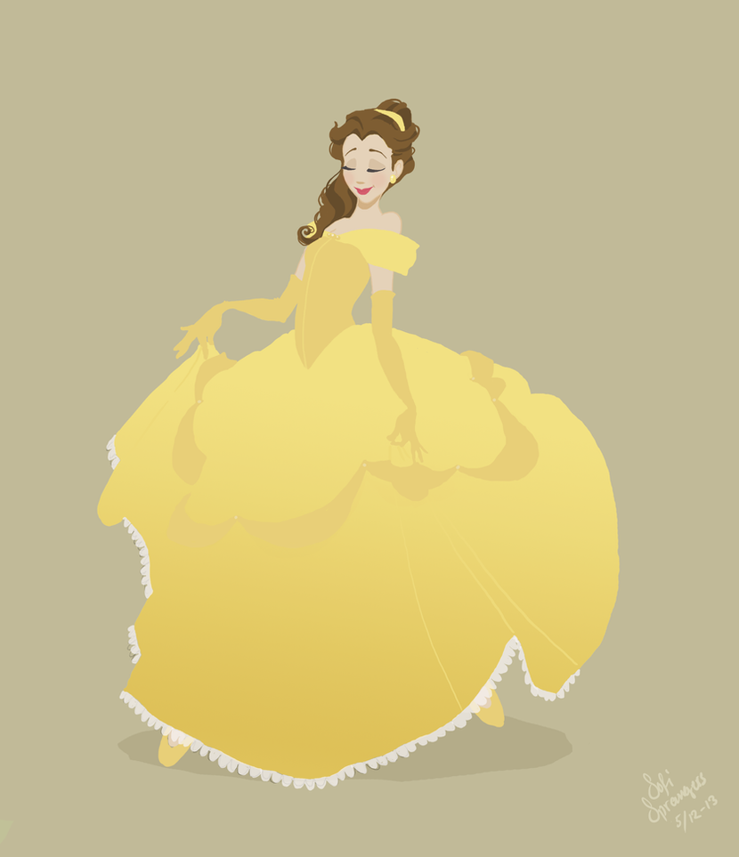 Beauty and the beast, Belle by SofiBS on DeviantArt