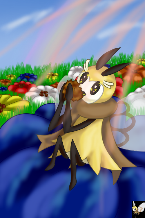 pokemon_sun_and_moon__ribombee_by_emeral