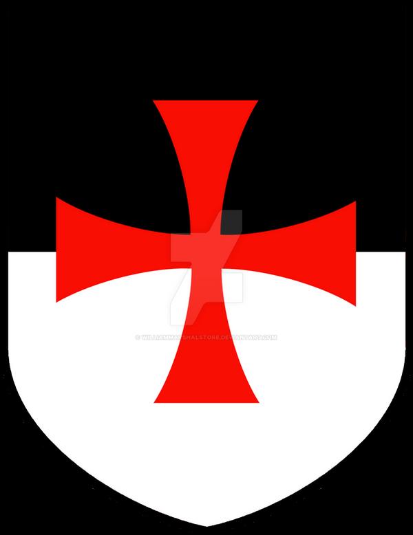 Knights Templar Bezant Shield