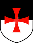 Knights Templar Bezant Shield
