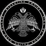 Byzantine Empire Double Headed Eagle Black n White