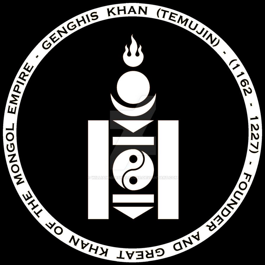 Genghis khan mongol black n white seal by williammarshalstore on genghis khan mongol black n white seal by williammarshalstore biocorpaavc Images