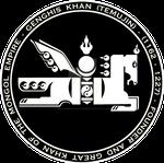 Genghis Khan - Mongol Black n White Horse Seal