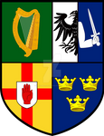 Ireland Regions Coat of Arms