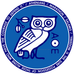 Athenians Owl Symbol T-Shirt Image