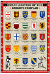 Grand Masters of the Knights Templar Poster