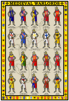 Medieval Warlords Poster