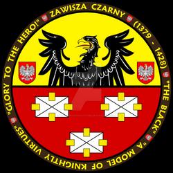 Zawiska Czarny T-shirt Image