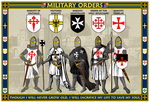Military Orders Poster - William Marshal Store.com