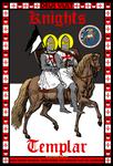 Knights Templar 13x19 Official Seal Poster