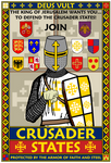 Crusader States Recruitment Poster