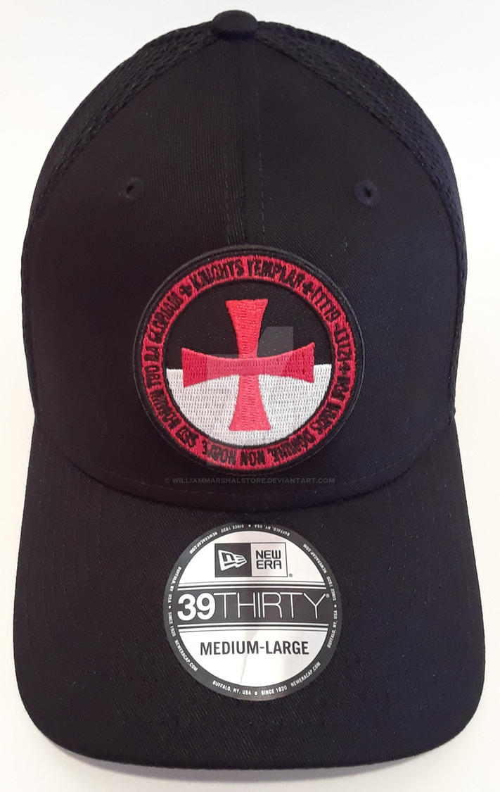 Knights Templar Embroidered Patch Hat / Cap by williammarshalstore