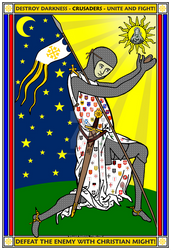 Crusader Nations Poster