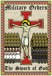 Jesus - Military Orders - Sword of God Poster