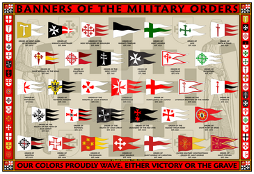 Military Orders Banners 13x19 Poster
