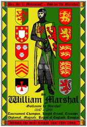 William Marshal Best Knight 13x19 Poster