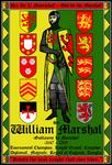 William Marshal Best Knight 13x19 Poster