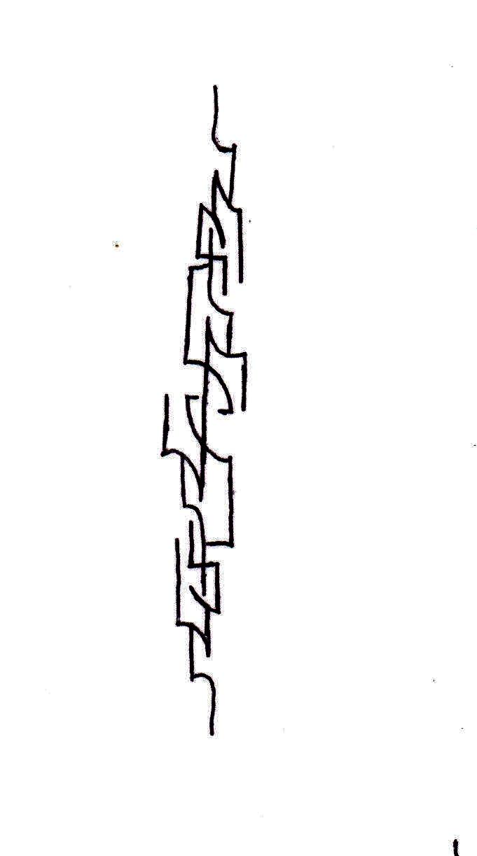 A Line Design : Line design wrist tattoo by unknownobsession on deviantart