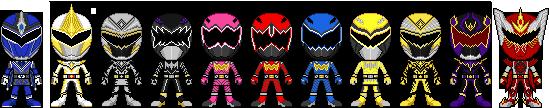 Juraki Sentai Sauranger by TerranMarine117