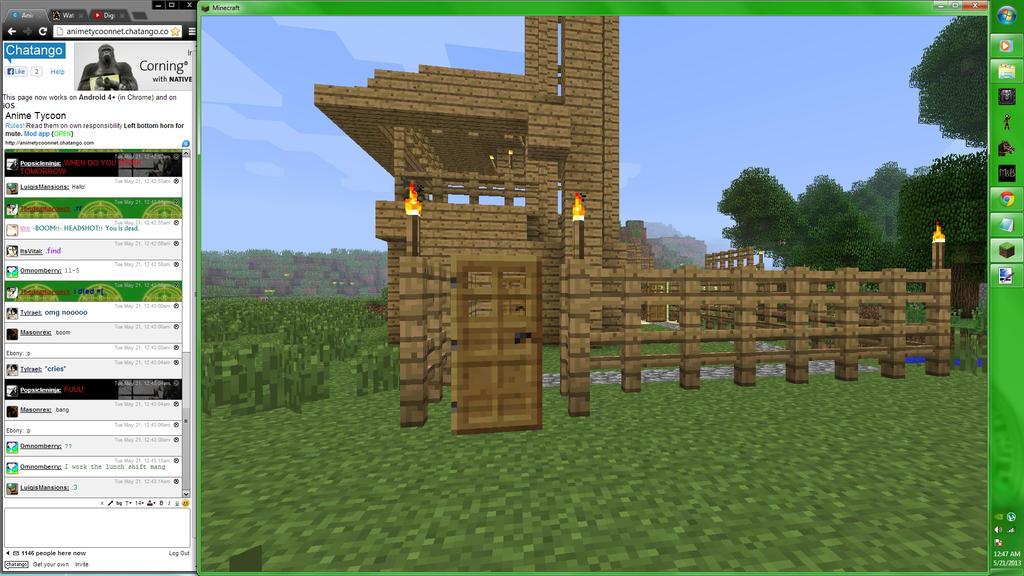 Minecraft Screenshot 2 by TerranMarine117