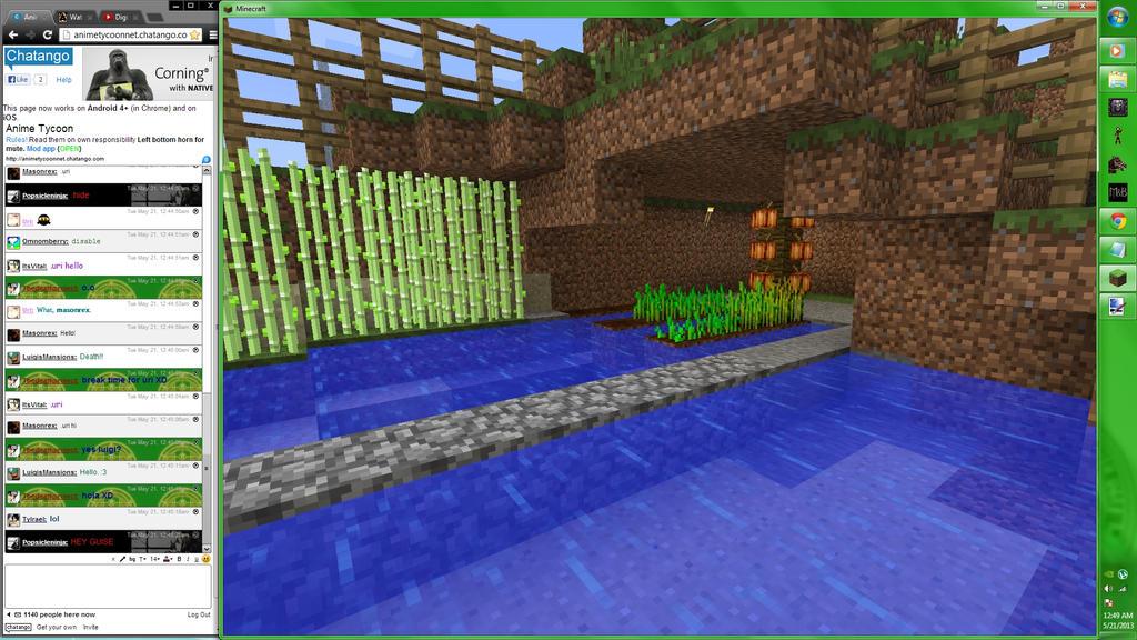 Minecraft Screenshot 3 by TerranMarine117