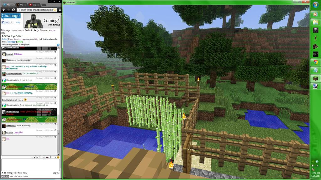 Minecraft Screenshot 7 by TerranMarine117