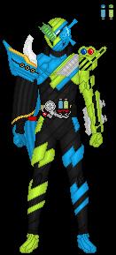 Kamen Rider Build KaizokuRessha by TerranMarine117
