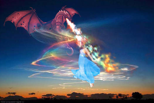 Dragon Creative Fire