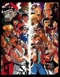 Capcom vs. SNK by Cavalierstylez