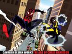 Spider-Shock by Cavalierstylez