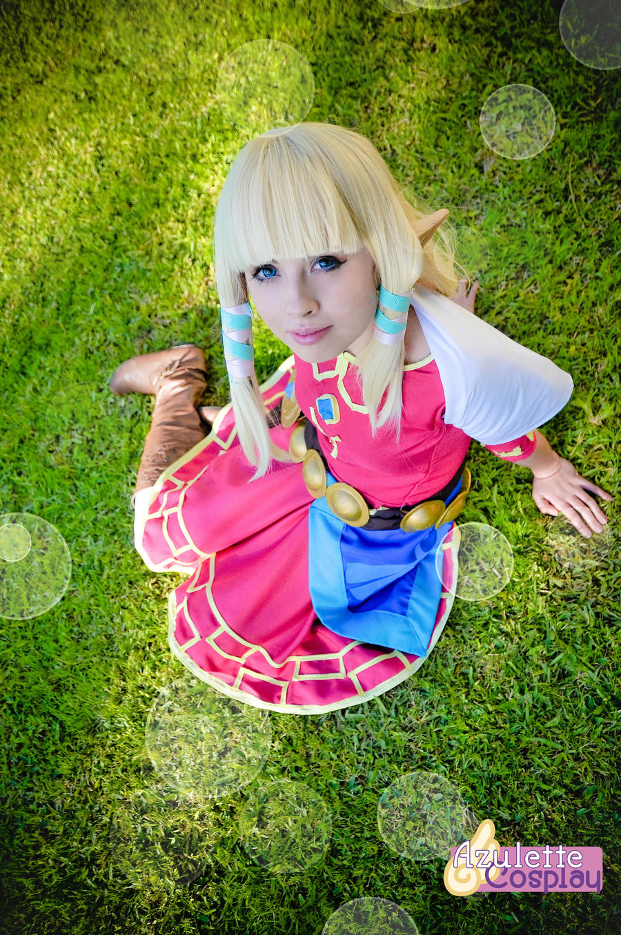 Zelda Skyward Sword Cosplay White Dress