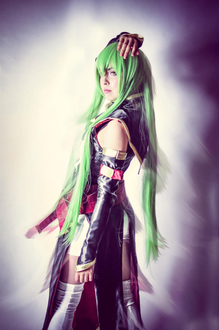 C.c Code Geass by azulettecosplay