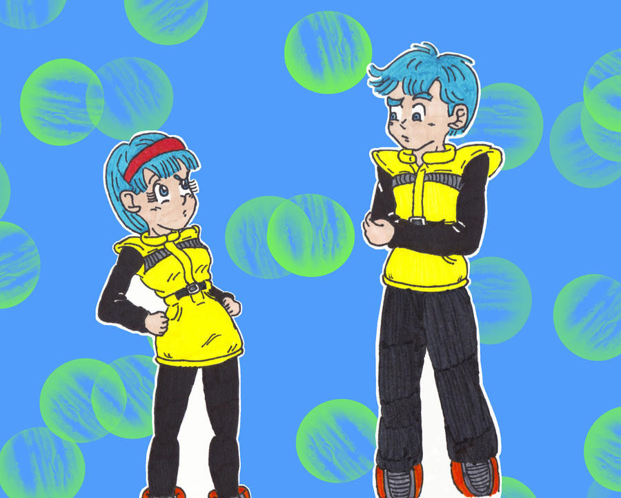 Me and Me: Bulma by starrdust411