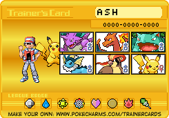 My first pokemon team. Yellow version by KeepingPokemonEpic