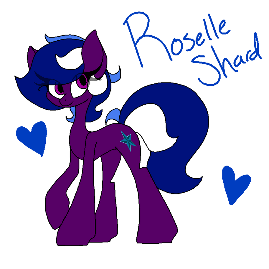 Roselle Shard by SpaazleDazzle