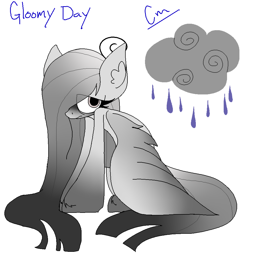 Gloomy Day Adopt Closed by SpaazleDazzle