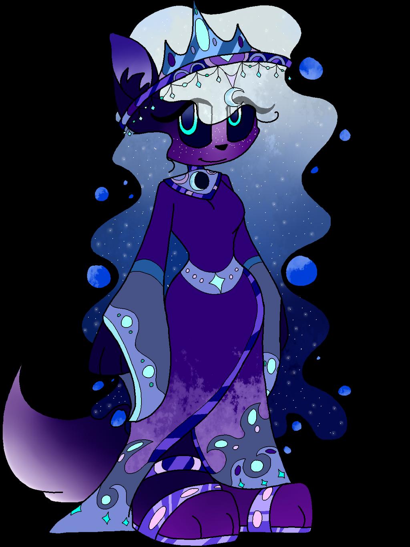 Moon Goddess by SpaazleDazzle